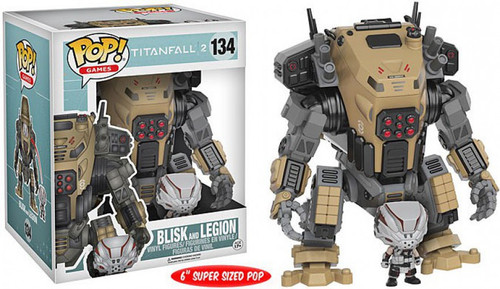 Funko Titanfall 2 POP! Games Blisk & Legion 6-Inch Vinyl Figure #133 [Super-Sized]