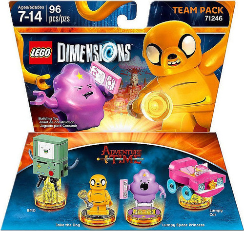 LEGO Dimensions Adventure Time BMO, Jake, Lumpy & Lumpy's Car Team Pack #71246