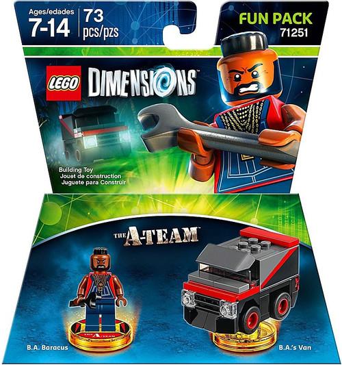 LEGO Dimensions A-Team B.A. Baracus & Van Fun Pack #71251
