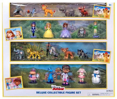 Disney Junior Deluxe Collectible Exclusive Figure 20-Pack Set