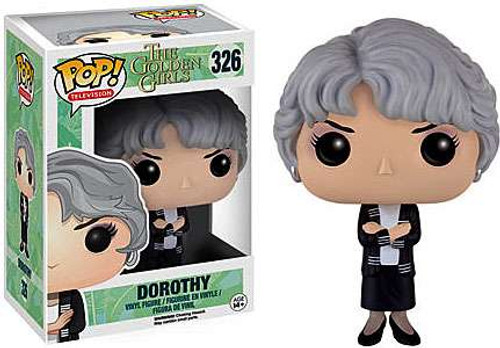 Funko Golden Girls POP! TV Dorothy Vinyl Figure #326 [Damaged Package]