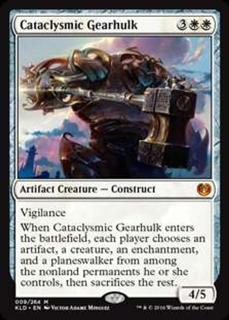MtG Kaladesh Mythic Rare Cataclysmic Gearhulk #9
