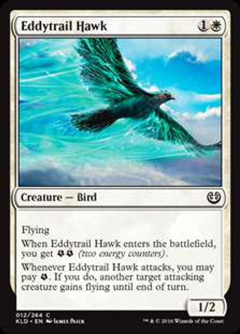 MtG Kaladesh Common Eddytrail Hawk #12