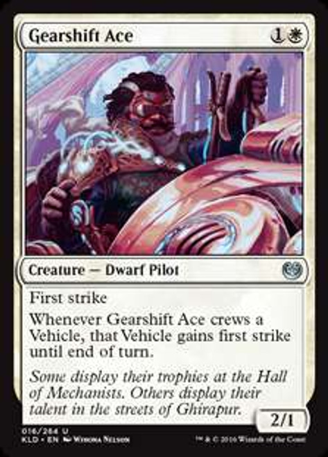 MtG Kaladesh Uncommon Gearshift Ace #16