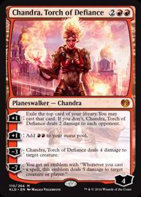 MtG Kaladesh Mythic Rare Chandra, Torch of Defiance #110