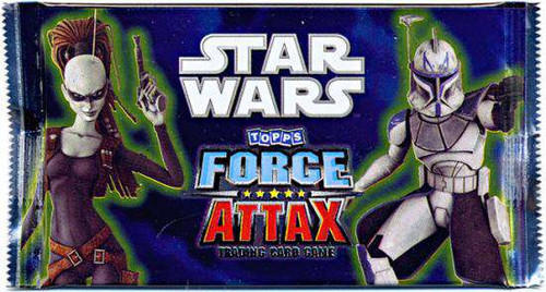Star Wars Topps Force Attax Booster Pack