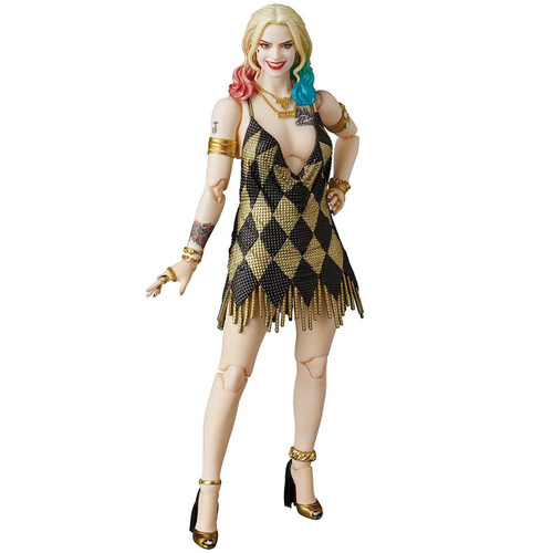 DC Suicide Squad MAFEX Harley Quinn in Dress Action Figure [Suicide Squad]