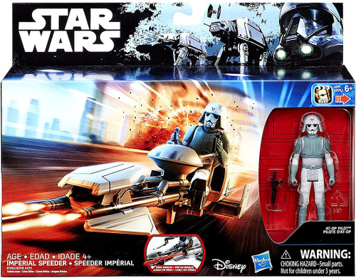 Star Wars Rebels Imperial Speeder with AT-DP Pilot Vehicle & Figure
