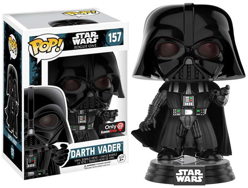 Funko Rogue One POP! Star Wars Darth Vader Exclusive Vinyl Bobble Head #157 [Force Choke]