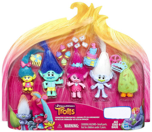 Trolls Coronation Celebration Exclusive Figure 5-Pack