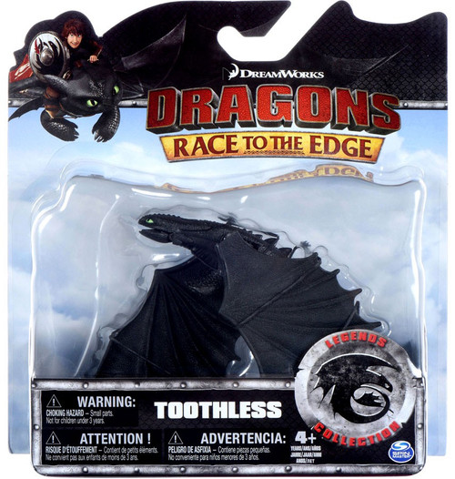How to Train Your Dragon Race to the Edge Legends Collection Toothless Action Figure