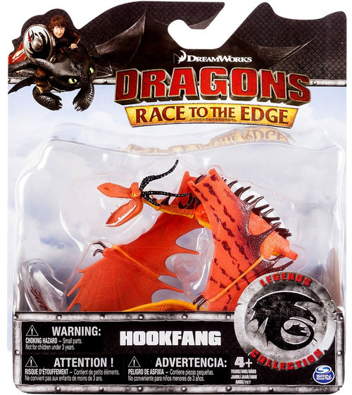 How to Train Your Dragon Race to the Edge Legends Collection Hookfang Action Figure