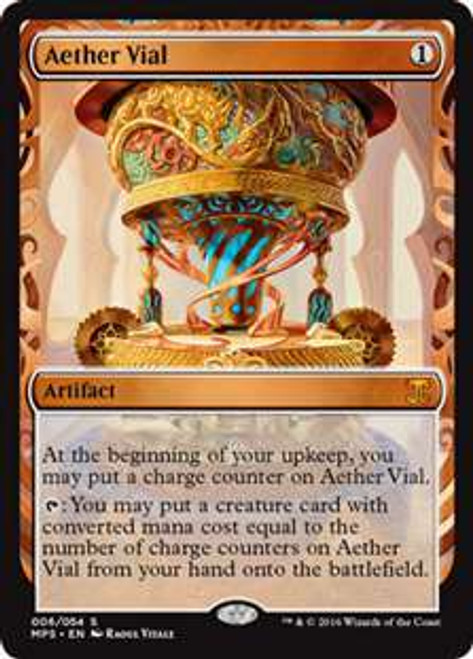 MtG Masterpiece Aether Vial #6 [Kaladesh Invention]