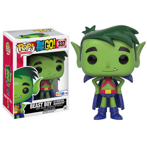 Funko DC Teen Titans Go! POP! TV Beast Boy as Martian Manhunter Exclusive Vinyl Figure #337