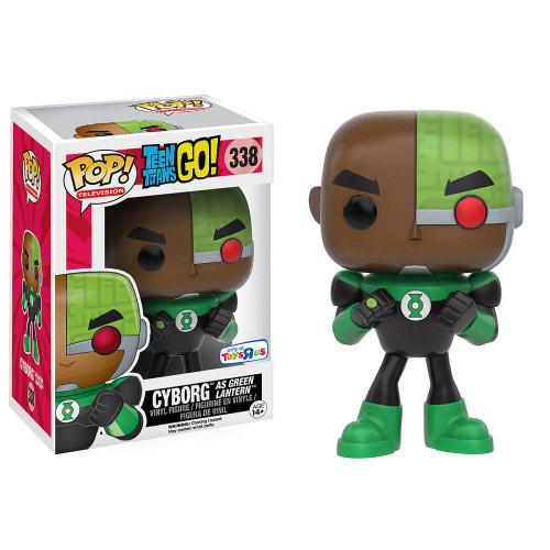 Funko DC Teen Titans Go! POP! TV Cyborg as Green Lantern Vinyl Figure #338