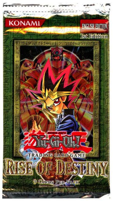YuGiOh Trading Card Game Rise of Destiny (1st Edition) Booster Pack [9 Cards]