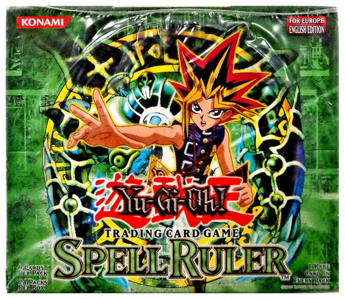 YuGiOh Trading Card Game Spell Ruler Booster Box [European Edition]