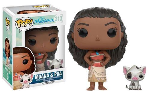 Funko POP! Disney Moana & Pua Vinyl Figure #213
