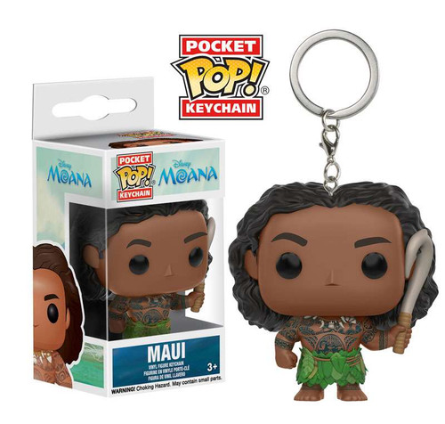 Funko Moana POP! Disney Maui Keychain