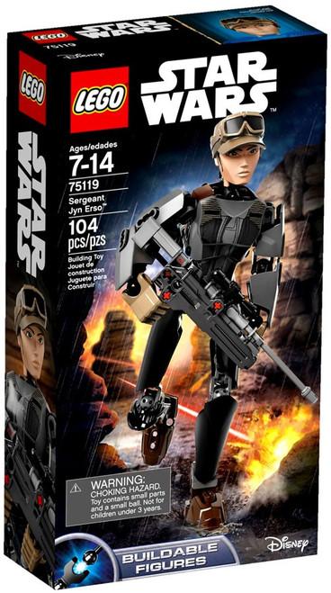 LEGO Star Wars Rogue One Sergeant Jyn Erso Set #75119