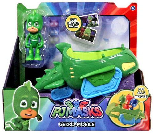 Disney Junior PJ Masks Gekko-Mobile Vehicle & Figure [with Gekko]