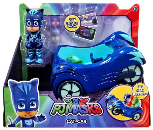 Disney Junior PJ Masks Cat-Car Vehicle & Figure [with Cat Boy]