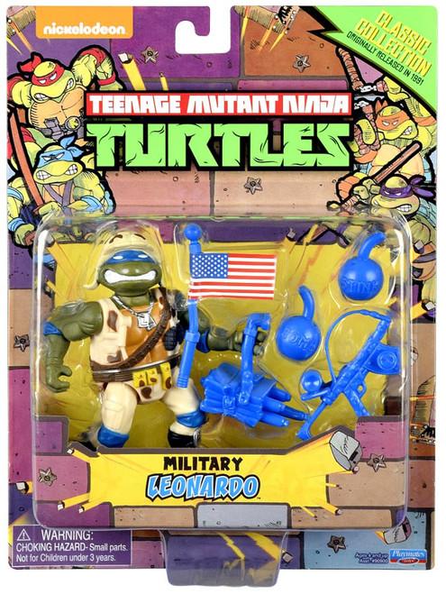Teenage Mutant Ninja Turtles Classics Collection Military Leonardo Exclusive Action Figure