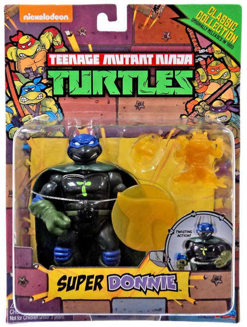 Teenage Mutant Ninja Turtles Classics Collection Super Donnie Action Figure