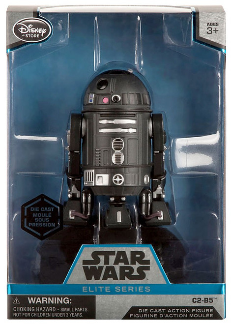 Disney Star Wars Rogue One Elite C2-B5 Exclusive 6.5-Inch Diecast Figure