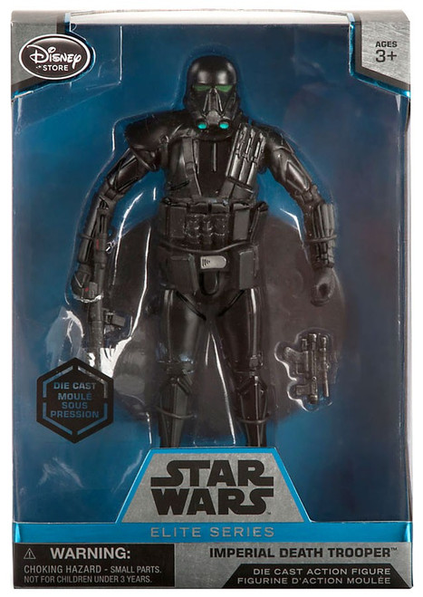 Disney Star Wars Rogue One Elite Imperial Death Trooper Exclusive 6.5-Inch Diecast Figure