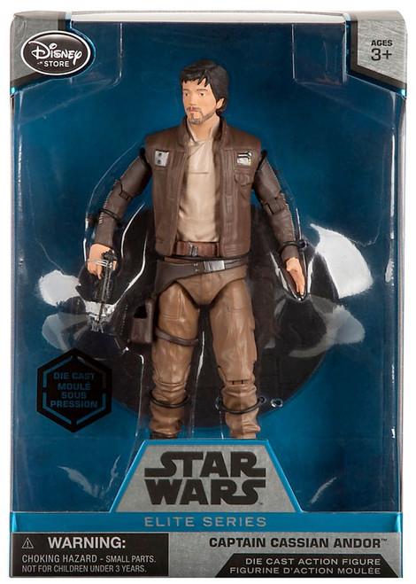 Disney Star Wars Rogue One Elite Captain Cassian Andor Exclusive 6.5-Inch Diecast Figure