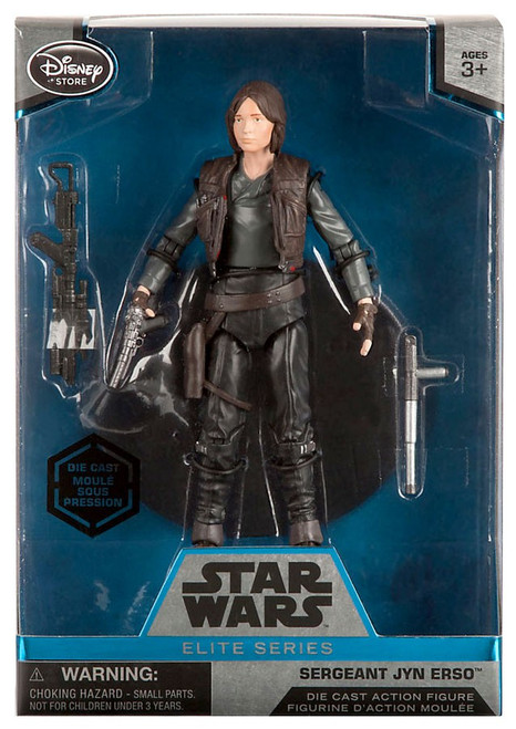 Disney Star Wars Rogue One Elite Sergeant Jyn Erso Exclusive 6.5-Inch Diecast Figure