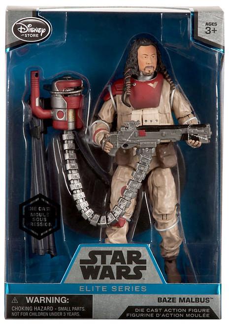 Disney Star Wars Rogue One Elite Baze Malbus Exclusive 6.5-Inch Diecast Figure