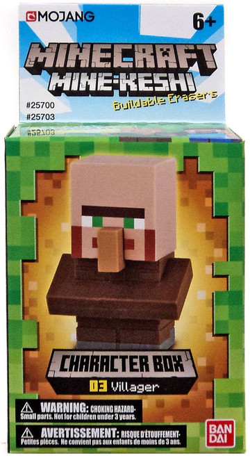 Minecraft Mine-Keshi Villager Character Pack #03