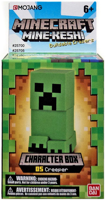 Minecraft Mine-Keshi Creeper Character Pack #05