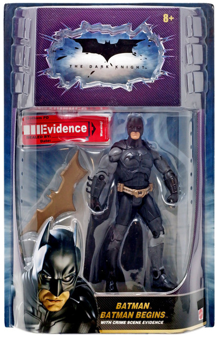 The Dark Knight Crime Scene Evidence Batman Action Figure [Batman Begins]