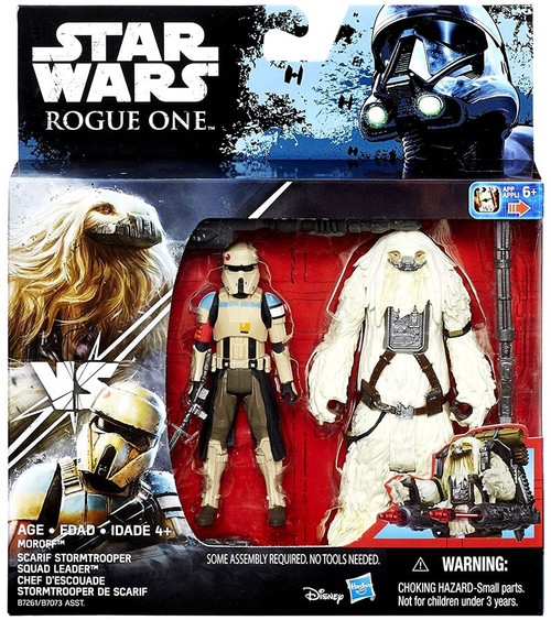 Star Wars Rogue One Moroff & Scarif Stormtrooper Squad Leader Action Figure 2-Pack