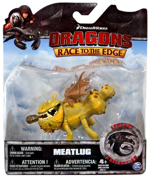 How to Train Your Dragon Race to the Edge Legends Collection Meatlug Action Figure
