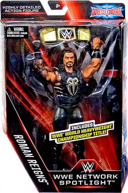 WWE Wrestling Elite Network Spotlight Roman Reigns Exclusive Action Figure [World Heavyweight Championship Title]