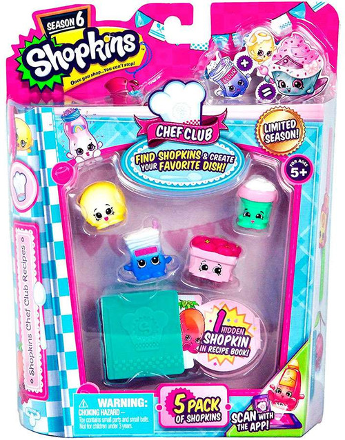 Shopkins Chef Club Season 6 Mini Figure 5-Pack