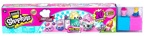Shopkins Chef Club Season 6 Mega 20-Pack