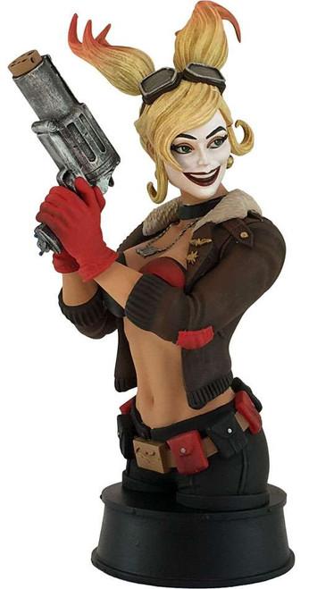 DC Bombshells Harley Quinn 7-Inch Paperweight Bust