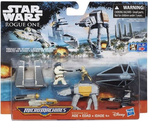 Star Wars The Force Awakens Micro Machines Assault on Scarif Vehicle Pack