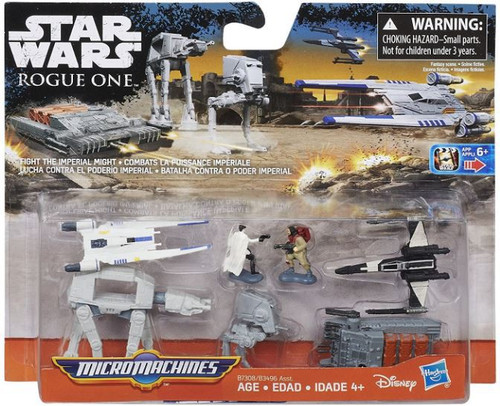 Star Wars The Force Awakens Micro Machines Fight the Imperial Might Vehicle Pack