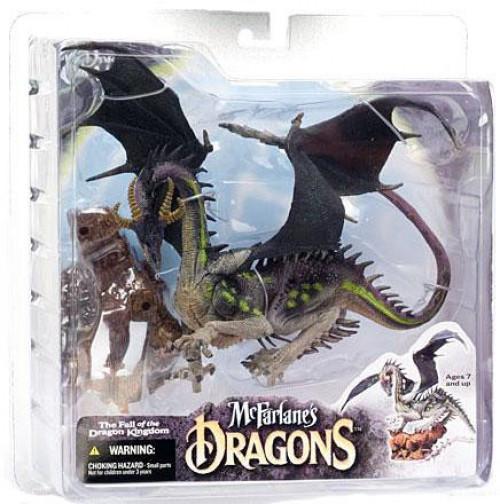 McFarlane Toys Dragons The Fall of the Dragon Kingdom Series 4 Eternal Dragon Clan 4 Action Figure