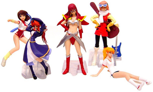 Gainax Micro PVC Collection Part 2 Set of 5 PVC Figures