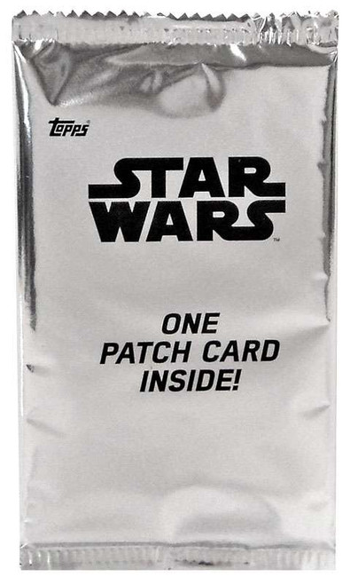 Star Wars Rogue One Mission Briefing Patch Card Pack