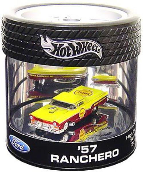 Hot Wheels Ford Custom Crusier Series '57 Ranchero Diecast Car
