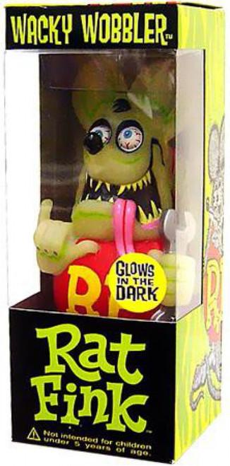 Funko Kustom Kulture Wacky Wobbler Rat Fink Bobble Head [Glow in the Dark]