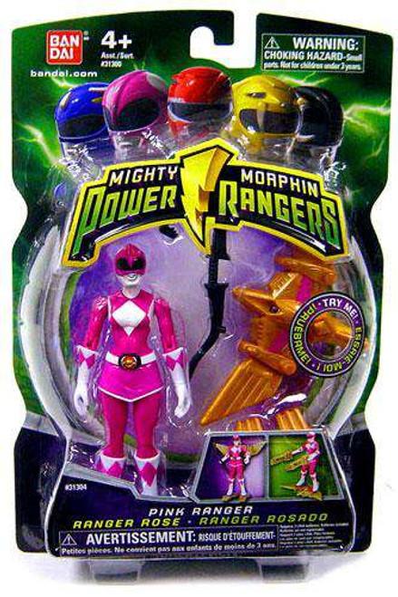 Power Rangers Mighty Morphin 2009 Pink Ranger Action Figure